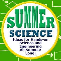 """A Super Science-filled Summer Break"": suggestions for easy, fun, hands-on #science and #engineering projects. [Source: Science Buddies, http://www.sciencebuddies.org/blog/2014/05/a-super-science-filled-summer-break.php?from=Pinterest] #STEM #scienceproject #summerscience #familyscience"