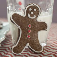 Gluten-Free Gingerbread Cookies - A perfect-for-the-holidays GF cookie recipe.