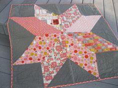 Giant Vintage Star quilt