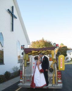 My Firefighter Wedding!