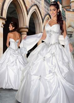 White quince dress, not all of them look like wedding dresses. <3 hermoso
