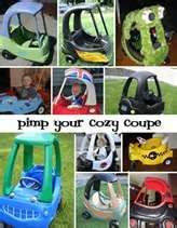Upcycling Little Tikes: 13 Ways to Pimp Your Cozy Coupe
