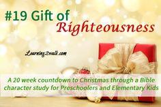 #preschool #bible lesson Countdown to Christmas