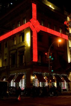 Cartier, Christmas on Fifth Avenue, NYC
