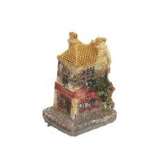 Amazon.com: Como Artificial Assorted Color Resin Double-deck Miniature House Aquatic Decor: Pet Supplies