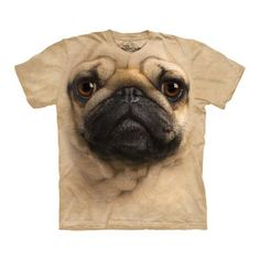 Pug Face Tee Adult now featured on Fab.