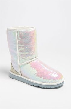 White mermaid, uggs.