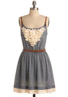 adorable dress! love the ruffles!