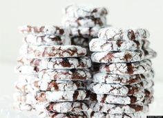 Peppermint Crinkle Christmas Cookies Recipe | Baking