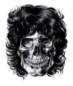 Illustration by Iain Macarthur. #skull