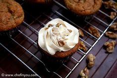 Banana Cupcakes (Eggless)