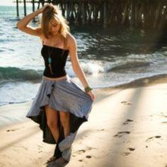 fall street style trends  asymmetrical maxi skirt