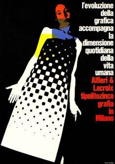 ad for a printer by Franci Grignani (1966)