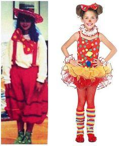 kid costum, circus costum, polka dot, girl costum, halloween costumes, clown costum, 5pccircus clowndresswrist, clown girl, clowns