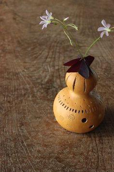 gourd art, paint gourd