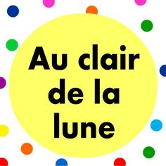 Dream along to Au clair de la lune lullaby with lullaby lyrics.