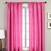 Found it at Wayfair - Bella Kids Rod Pocket Panel in Hot Pink