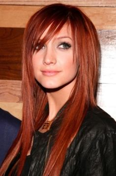 Pretty Red hair color!