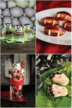 4 Cute Halloween Treat Ideas!!