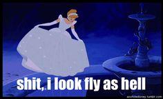 go girls, funny disney, laugh, disney princesses, dress