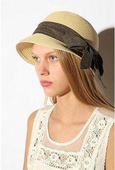 Straw Cloche from Urban Outfitters