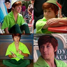 I love Andrew Ducote as Spieling Peter