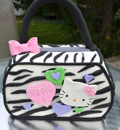 Hello Kitty Purse — Children's Birthday Cakes