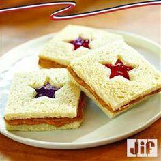 PB & J Sandwich Cut-Outs from Jif®