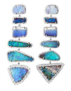 Irene Neuwirth Opal Earings