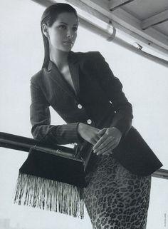 Dolce & Gabbana, mid 90s, Elsa Benitez by Steven Meisel
