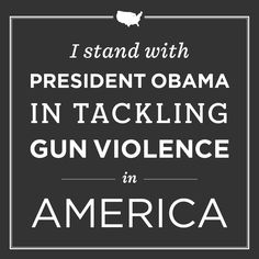 Today, President Obama announced a plan to reduce gun violence in America. Read the proposals at j.mp/13DPSPd, and repin this graphic if you stand with the President — because now is the time to do something.