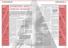 TAKESHI KITANO RETROSPECTIVE on Editorial Design Served
