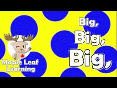 YouTube big, little, long, short, clean, dirty, fast, slow - a mix on animation and video/photo images