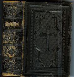 Die Bibel 1900 German Bible Hand-tooled Leather