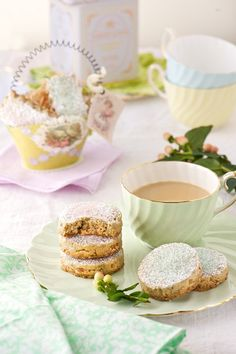 Tea:  Toasted Pecan Maple Syrup Shortbread for #tea time.