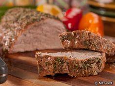 Herb-Crusted Pork Tenderloin