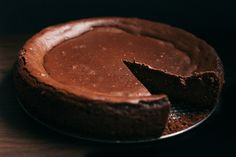 "Guinness Chocolate Cheesecake -- ""Stout can do such amazing things once it is incorporated into baked goods. Obviously it pairs well with chocolate, hence chocolate chips, cocoa powder, and in this cheesecake, it's absolutely insane. Almost like a flourless and dense chocolate cake, very fudgy, creamy, but also light like a chocolate souffle. But better."""