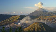 Mount Bromo in Java, Indonesia via Swide