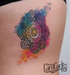 watercolor tattoo colors