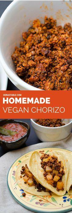 Homemade Vegan Chori