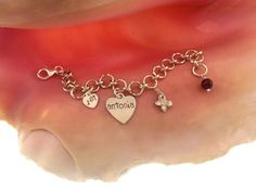 Baby's First Charm Bracelet/Little Girls Birthday by MayaBelle, $67.00