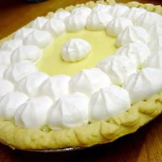 "http://allrecipes.com/recipe/key-lime-pie-i/detail.aspx    Made this for my hubby for Father's Day.  I have been trying to find him the ""perfect"" key lime pie recipe for years, but none ever came close to what he called ""authentic""...that is, until now.  I made this with a regular pie crust instead of a graham cracker crust and added 1/2 tsp of vanilla and 3 tbs of powdered sugar to the whipped cream.  Yummy!"