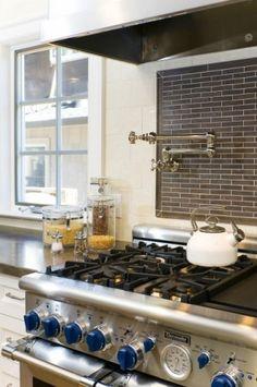 faucet, backsplash ideas, contemporary kitchens, industrial kitchens, kitchen backsplash