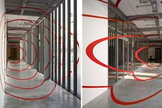 Anamorphic Illusions by Felice Varini (9)