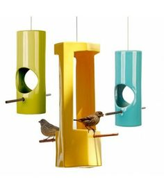 GAINEY Ceramic Bird Feeders //