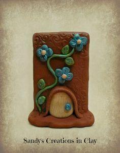 Fairy Doors, Polymer Clay Fairy Door