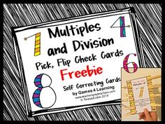 Freebie! Multiples and Division