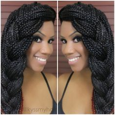Styles for Box Braids, Senegalese Twists, and Locs | Kyss My Hair