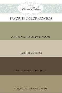 Favorite Paint Colors: Great site to see colors in actual rooms. lots of choices with color names