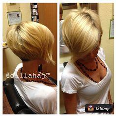 short blond bob with long bangs | @julia_foronda (Julie Foronda)'s Instagram photos | Webstagram.. Maybe one day